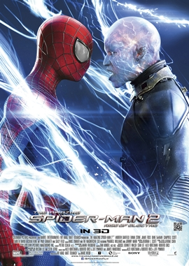 The Amazing Spider-Man 2 – Rise of Electro – deutsches Filmplakat – Film-Poster Kino-Plakat deutsch