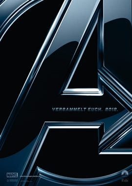 The Avengers – deutsches Filmplakat – Film-Poster Kino-Plakat deutsch