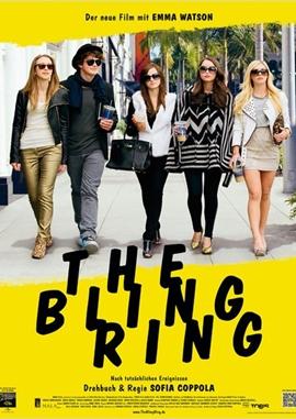 The Bling Ring – deutsches Filmplakat – Film-Poster Kino-Plakat deutsch