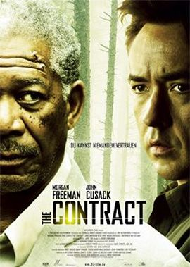 The Contract – deutsches Filmplakat – Film-Poster Kino-Plakat deutsch