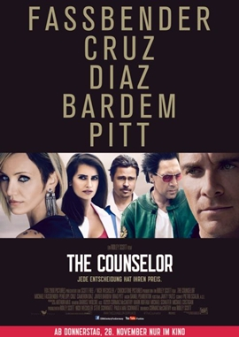 The Counselor – deutsches Filmplakat – Film-Poster Kino-Plakat deutsch