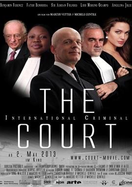 The Court – deutsches Filmplakat – Film-Poster Kino-Plakat deutsch