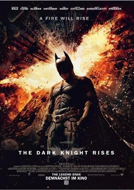 The Dark Knight Rises – deutsches Filmplakat – Film-Poster Kino-Plakat deutsch