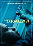 The Equalizer - deutsches Filmplakat - Film-Poster Kino-Plakat deutsch