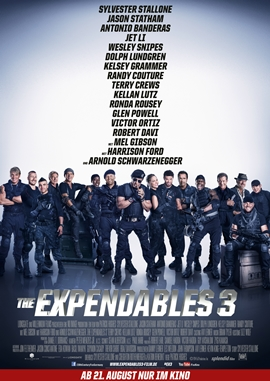 The Expendables 3 – deutsches Filmplakat – Film-Poster Kino-Plakat deutsch