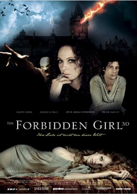 The Forbidden Girl – deutsches Filmplakat – Film-Poster Kino-Plakat deutsch