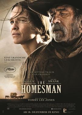 The Homesman – deutsches Filmplakat – Film-Poster Kino-Plakat deutsch