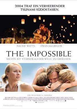 The Impossible – deutsches Filmplakat – Film-Poster Kino-Plakat deutsch