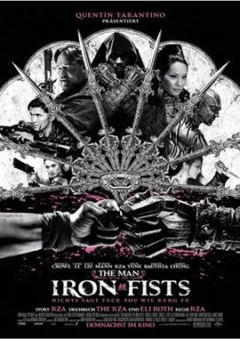 The Man With The Iron Fists – deutsches Filmplakat – Film-Poster Kino-Plakat deutsch