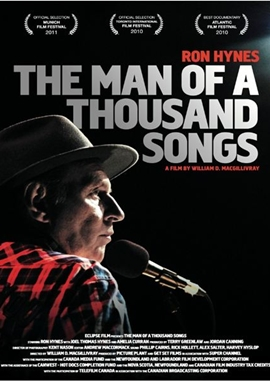 The Man of a Thousand Songs – deutsches Filmplakat – Film-Poster Kino-Plakat deutsch