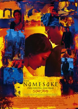 The Namesake – Zwei Welten, Eine Reise – deutsches Filmplakat – Film-Poster Kino-Plakat deutsch