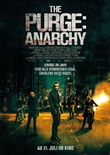 The Purge 2 - Anarchy - deutsches Filmplakat - Film-Poster Kino-Plakat deutsch