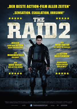 The Raid 2 – deutsches Filmplakat – Film-Poster Kino-Plakat deutsch