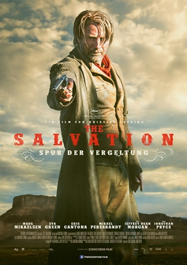 The Salvation – deutsches Filmplakat – Film-Poster Kino-Plakat deutsch