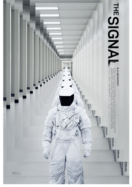 The Signal – deutsches Filmplakat – Film-Poster Kino-Plakat deutsch