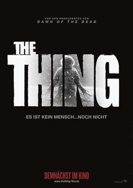 The Thing – deutsches Filmplakat – Film-Poster Kino-Plakat deutsch