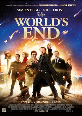 The World's End – deutsches Filmplakat – Film-Poster Kino-Plakat deutsch
