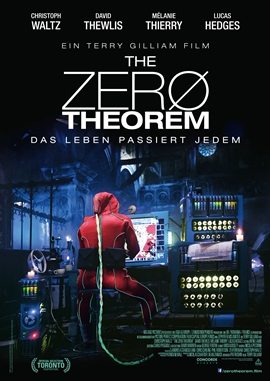 The Zero Theorem – deutsches Filmplakat – Film-Poster Kino-Plakat deutsch