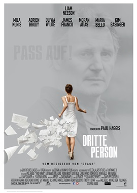 Third Person – deutsches Filmplakat – Film-Poster Kino-Plakat deutsch