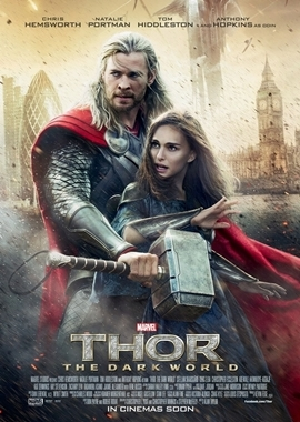 Thor – The Dark Kingdom – deutsches Filmplakat – Film-Poster Kino-Plakat deutsch