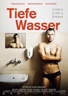 Tiefe Wasser – deutsches Filmplakat – Film-Poster Kino-Plakat deutsch