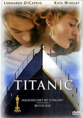 Titanic – deutsches Filmplakat – Film-Poster Kino-Plakat deutsch