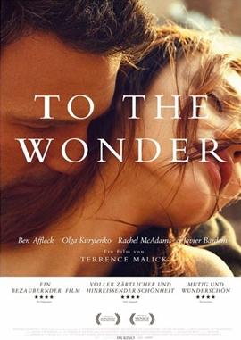 To The Wonder – deutsches Filmplakat – Film-Poster Kino-Plakat deutsch