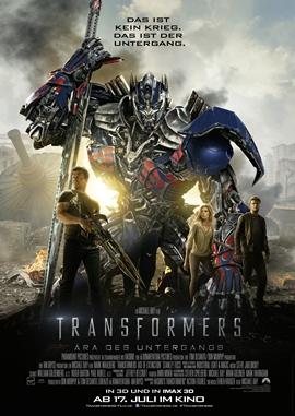 Transformers 4 – Ära des Untergangs – deutsches Filmplakat – Film-Poster Kino-Plakat deutsch