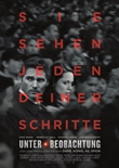 Unter Beobachtung – deutsches Filmplakat – Film-Poster Kino-Plakat deutsch