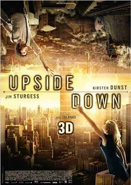 Upside Down – deutsches Filmplakat – Film-Poster Kino-Plakat deutsch