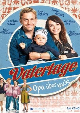 Vatertage – Opa über Nacht – deutsches Filmplakat – Film-Poster Kino-Plakat deutsch