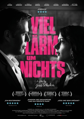 Viel Lärm um nichts – deutsches Filmplakat – Film-Poster Kino-Plakat deutsch