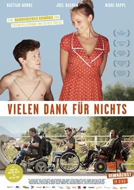 Vielen Dank für Nichts – deutsches Filmplakat – Film-Poster Kino-Plakat deutsch