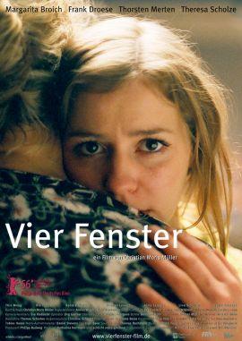 Vier Fenster – deutsches Filmplakat – Film-Poster Kino-Plakat deutsch