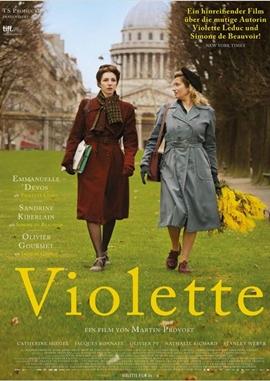 Violette – deutsches Filmplakat – Film-Poster Kino-Plakat deutsch