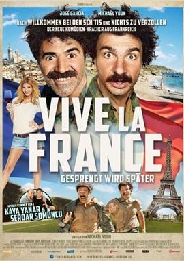 Vive la France – Gesprengt wird später – deutsches Filmplakat – Film-Poster Kino-Plakat deutsch