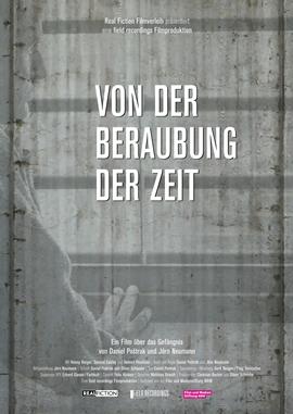 Von der Beraubung der Zeit – deutsches Filmplakat – Film-Poster Kino-Plakat deutsch