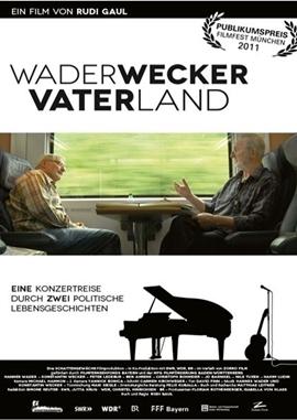 Wader Wecker Vater Land – deutsches Filmplakat – Film-Poster Kino-Plakat deutsch