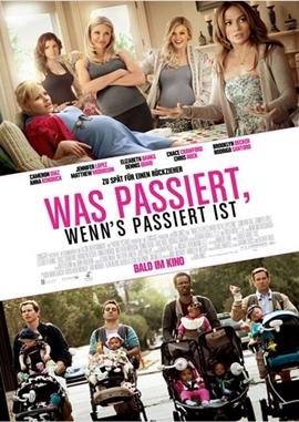 Was passiert, wenn's passiert ist – deutsches Filmplakat – Film-Poster Kino-Plakat deutsch