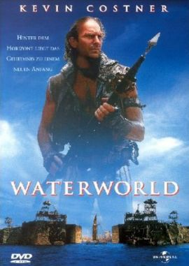 Waterworld – deutsches Filmplakat – Film-Poster Kino-Plakat deutsch