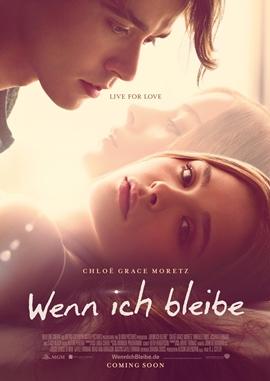 Wenn ich bleibe – deutsches Filmplakat – Film-Poster Kino-Plakat deutsch