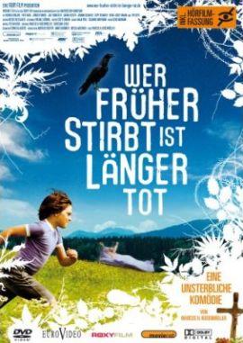 Wer früher stirbt ist länger tot – deutsches Filmplakat – Film-Poster Kino-Plakat deutsch