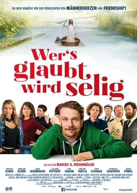 Wer's glaubt wird selig – deutsches Filmplakat – Film-Poster Kino-Plakat deutsch