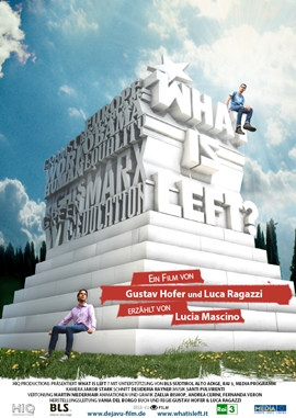 What is Left? – deutsches Filmplakat – Film-Poster Kino-Plakat deutsch