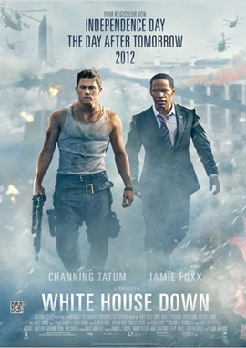 White House Down – deutsches Filmplakat – Film-Poster Kino-Plakat deutsch
