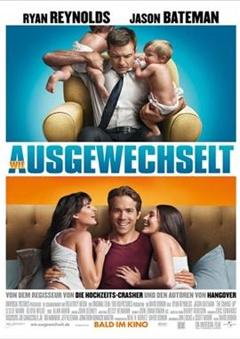 Wie ausgewechselt – deutsches Filmplakat – Film-Poster Kino-Plakat deutsch