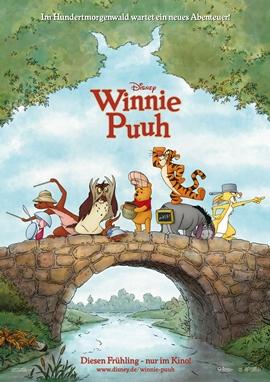 Winnie Puuh – deutsches Filmplakat – Film-Poster Kino-Plakat deutsch