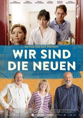 Wir sind die Neuen – deutsches Filmplakat – Film-Poster Kino-Plakat deutsch