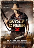 Wolf Creek 2 - deutsches Filmplakat - Film-Poster Kino-Plakat deutsch