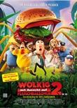 Wolkig mit Aussicht auf Fleischbällchen 2 – deutsches Filmplakat – Film-Poster Kino-Plakat deutsch